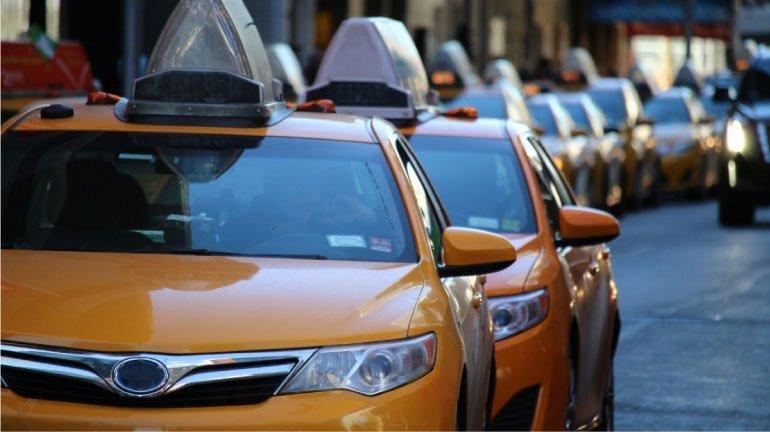 Coda di taxi