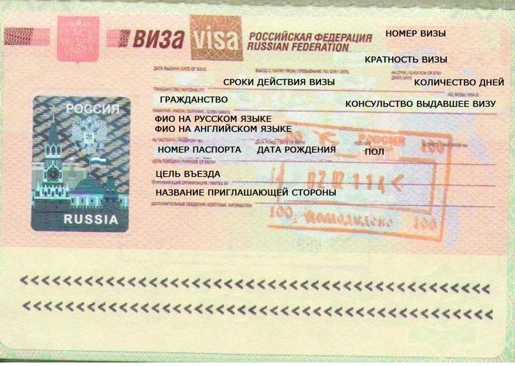 Visto per una vacanza a Mosca