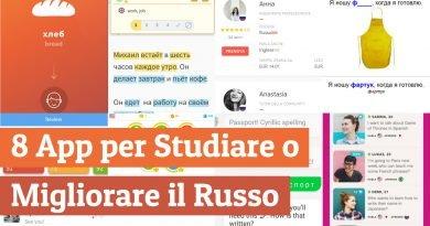 app per studiare il russo